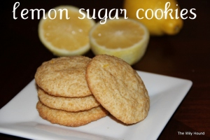 Lemon Sugar Cookies 067-001