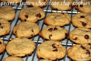 Peanut butter chocolate chip cookies 021-001