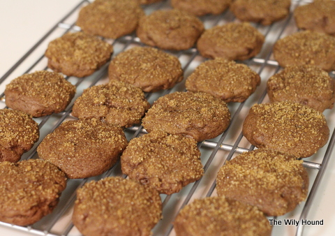 Spicy chocolate cookies 008