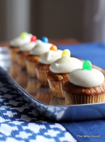 Carrot cake cupcakes 049