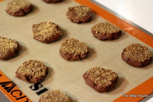 Spicy chocolate cookies 001