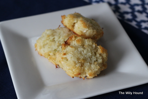 Lime Coconut Macaroons 026