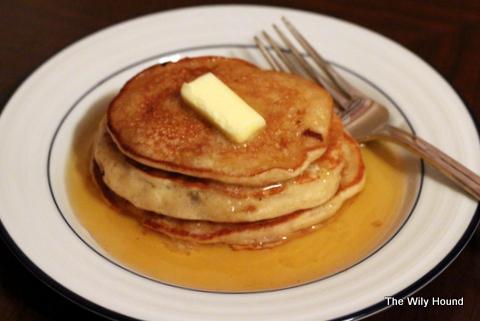 Banana Bread Pancakes 041