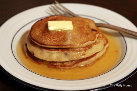 Banana Bread Pancakes 046