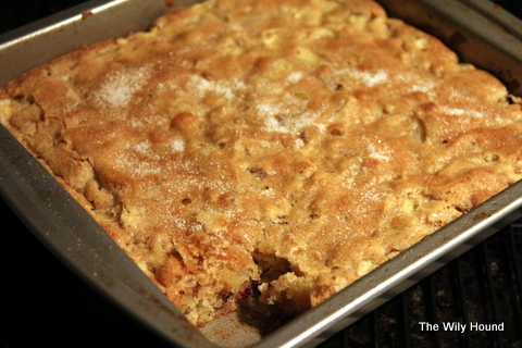 Caramel apple cake 010
