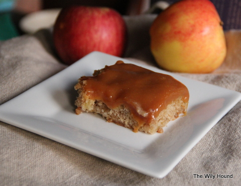 Caramel apple cake 019